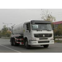 Quality Low Fuel Consumption Sewer Cleaning Equipment Vacuum Pump Truck 6X4 Euro2 336HP wholesale