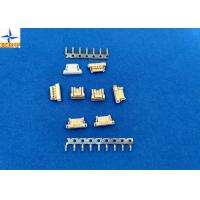 Quality Yellow PCB Connectors Wire To Board , 6 Pin Connector Single Row Housing wholesale