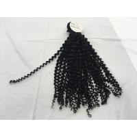 China 9a grade top quality cheap virgin jerry curl hair weft quality products dubai distributors wanted 10-30inch on sale