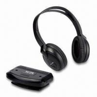 Buy cheap Infrared Stereo Wireless Headphones for Home Audio System with 10m Operating from wholesalers