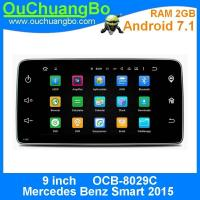 China Ouchuangbo auto radio head unit video stereo android 7.1 for Mercedes Benz Smart 2015 with MP3 MP5 calendar 4*45 on sale