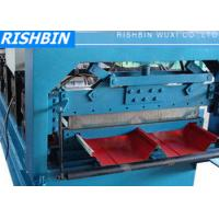 Quality 16 - 24 Stations Bemo Roof Panel Roll Forming Machine with 70 mm Roller wholesale