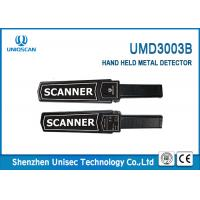 Buy cheap High Sensitivity Hand held metal detector UMD3003B support hotel , metro and airport,etc. from wholesalers