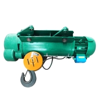 China industrial small 2 ton wire rope electric hoist with remote control on sale