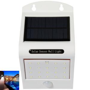 China Super Bright Solar LED Security Light / 20 LED Flood Light With PIR Motion Sensor on sale