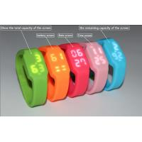 Quality oem gift silicon bracelet usb watch pen drive wholesale
