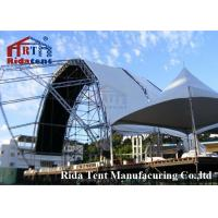 Buy cheap Lightweight Aluminum Truss System , Mental Triangle Ladder Truss For Church from wholesalers