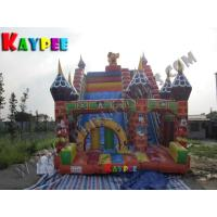 Quality Inflatable Dis ney land slide , Inflatable slide Game wholesale