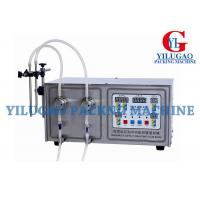 Buy cheap Semi-automatic Magnetic Pump bottle liquid filling machine from wholesalers
