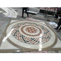 Quality Water Jet Cutting Marble Floor Medallions Interior Luxury Pattern Design wholesale
