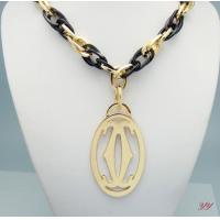 Quality Wholesale 2014 Newly fashion designer C-artier double C necklace/jewelry/golden high grade wholesale