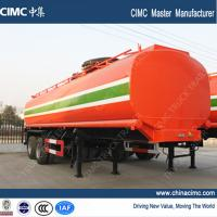Quality fuel tank trailer , 30,000L fuel tank semi trailer wholesale