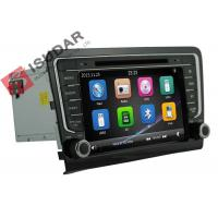 Cheap 8 Inch Car Video GPS VW Car DVD Player For Volkswagen Santana 2013 3G IPod for sale