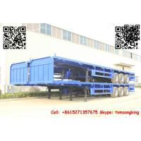 Cheap TIC Flatbed container trailer for sale