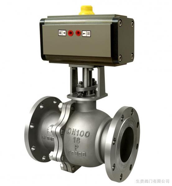 Cheap pneumatic actuator ball valve for sale