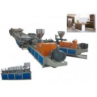 Buy cheap Shock Resistance PE Construction Formwork Plastic Extrusion Machine High output from wholesalers