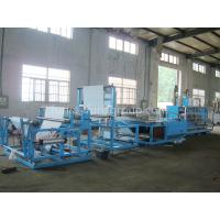Quality Non - woven Fabric Sheet Folding Machine Touch Screen And PLC Control wholesale