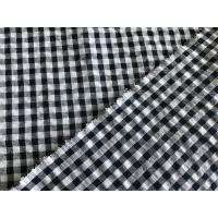 Quality Nice Price 100% COTTON Seersucker  Fabric Yarn Dyed 2017 NEW ARRIVAL Fabrics For dress/shirt/clothes wholesale