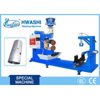 Quality Circular Resistance Seam Welding Equipment HWASHI Long Service Life For Oil Tank wholesale
