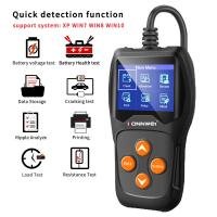Quality Konnwei KW600 Car Battery  Tester Monitor LCD Display 12V 2000 CCA Cell Test Tool wholesale