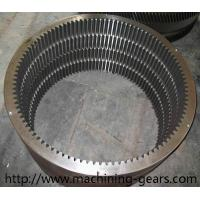 Quality Rotary Kiln Internal Tooth Gear / Ball Mill Hss Large Ring Gear Abrasion Resistant wholesale