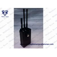 China Portable RF Remote Control Jammer 315 / 433 / 868MHz Two Power Adapters on sale