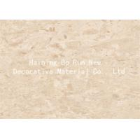 Quality Marble Design Interior Pvc Sheet Film , Wall Panel Hot Foil Rolls Fire Proof wholesale
