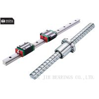 Quality Long Life Linear Guide Rail Bearing For Machine HSR20  GCr15SiMn G20Cr2Ni4A wholesale