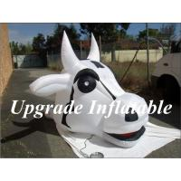 Quality custom free shipping gaint inflatable milk cow head balloon for advertising wholesale