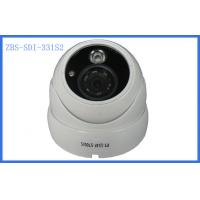 Quality Horizontal / vertical Mirror HD-SDI dome web Security Camera IR Distance 20M wholesale
