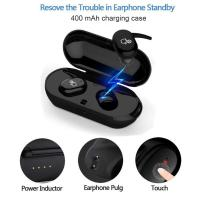 China TWS Bluetooth Earphone 5.0 Mini Earbuds Touch Control Sport Ear Stereo Wireless Stereo headphone with Charging box on sale