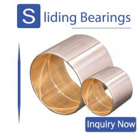 China SAE 48 CuPb30 Shaft & Con rod bushings JF800 Track Roller Bimetal Bearing For Handling Equipment on sale