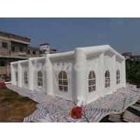 Quality White Color Inflatable Big Tent , Inflatable Tent For Party Or Wedding wholesale