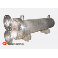 Quality Dry Shell And Tube Titanium Seawater Heat Exchanger Water Cooled 10KW To 600KW wholesale