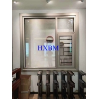 China ISO9001 6063 -T5 Aluminium Double Glazed Windows 12A 5mm Glass on sale