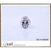 Quality Hot Sell 14.1g 316l Stainless Steel Death's - Head Ring H-JK0058 wholesale