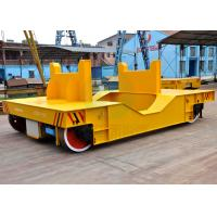 Cheap Ageing Furnace Material Transport Liquid Steel Ladle Transfer Bogie With Weighing System Electronic Scale for sale