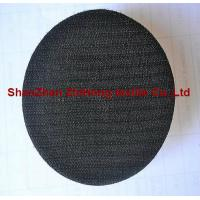 China Customized self-adhesive Velcro hook and loop sanding pad for grinding on sale