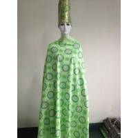 Quality Apple Green Voile African Lace Fabric Heavy For Baby Gloth wholesale