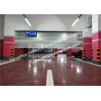 China Steel Fire Security Door With Smoke Detecor Emergency Fire Resistant Garage Door Systems on sale