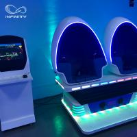 Quality 3 Seats 9D VR Simulator 360 Egg Cinema VR Chair Arcade Game Machine wholesale