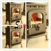 Cheap forest paint Cast Iron Wood-Burning Stove for sale