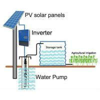 Quality MPPT 3 Phase Solar Pump Inverter For Irrigation Drinking Water Treatment wholesale