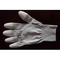 Quality Copper Top/Palm PU Coated Conductive Gloves wholesale
