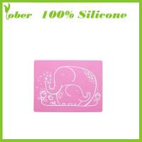 Buy cheap 100% Silicone Custom Silicone BBQ Mat Silicone Kitchen Mat Silicon Mouse Pad Mat from wholesalers