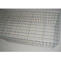 China Zinc Coated Welded Wire Gabions Baskets , Stone Filled Wire Cages on sale