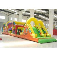 Quality Blast Zone Pirate ' S Bay Inflatable Amusement Park , Inflatable Obstacle Course wholesale