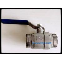Quality Male Thread Stainless Steel Ball Valves Manual Ball Valve Without Lock Hand wholesale