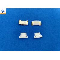 Quality 1.25mm Pitch usb Circuit Board Wire Connectors With Lock Structure PA66 / LCP Material wholesale