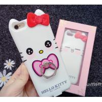 Quality Iphone 7 Apple Phone Power Bank Case  Hello Kitty With Ring Holder 4000 Mah wholesale